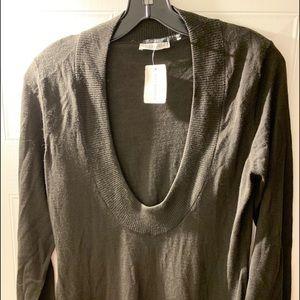 Maya Chocolate sweater from Holt Renfrew, size L
